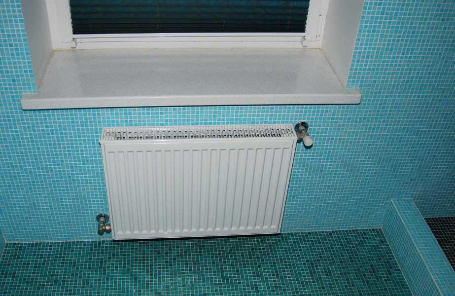 Увеличить радиаторы и тёплый пол