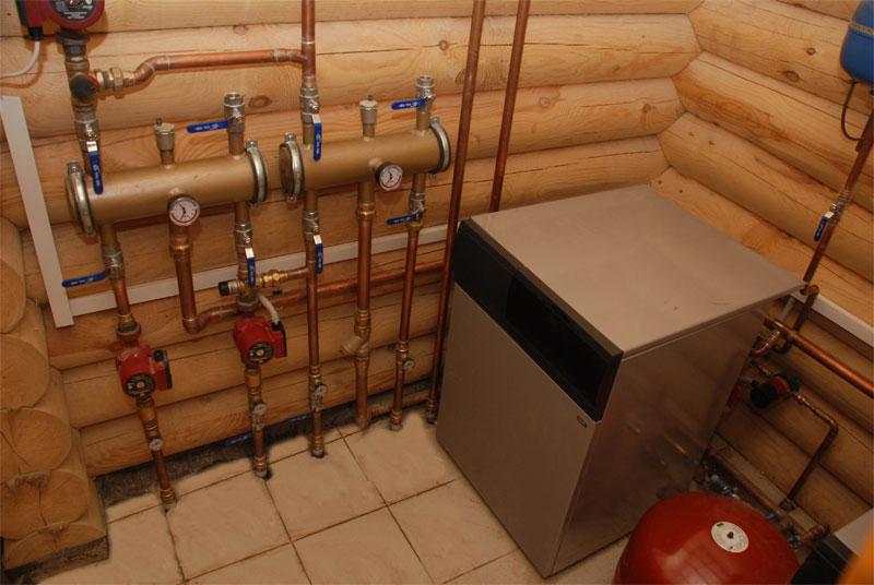 монтаж обвязки газовых котельных для загородного дома